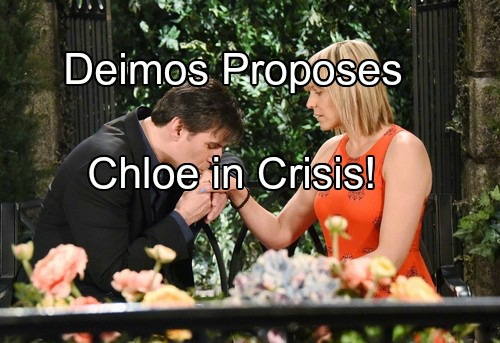 'Days of Our Lives' Spoilers: Deimos Proposes After Sleeping with Nicole – Chloe Reels as Pregnancy Test Confirms Fears