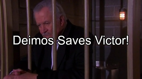 Days of Our Lives Spoilers: Victor Accuses Deimos of Framing Him for Kidnapping – Nicole Wants Truth, Deimos Solves Crime