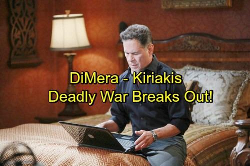 'Days of Our Lives' Spoilers: DiMera and Kiriakis Feud Reignites, Epic Battle Ahead – Eduardo and Dario Enter the Fray