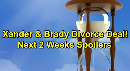 Days of Our Lives Spoilers Next 2 Weeks: Brady Makes Divorce Deal with Xander – Sarah Back With Eric – Election Results Shocker
