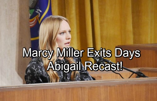 Days of Our Lives Spoilers: Marci Miller Out at DOOL – Exiting Role of Abigail