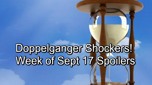 Days of Our Lives Spoilers: Week of September 17-21 – Doppelganger Shockers, Crazy Schemes and Growing Suspicions