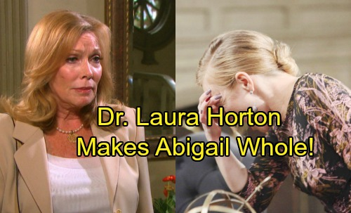 Days of Our Lives Spoilers: Dr. Laura Horton Back to Help Abigail – Merges Alters Into One Personality, Deals With Ben's Return