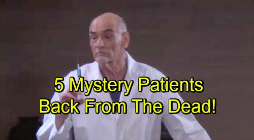Days of Our Lives Spoilers: 5 Other Mystery Patients Back From The Dead – Who Else Is Alive and Could Haunt Salem?