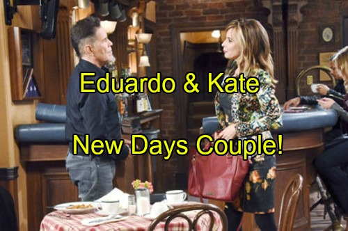 Days of Our Lives Spoilers: Eduardo Kisses Kate, Offers Position at New Corporation – Anna Steals Andre's Interest