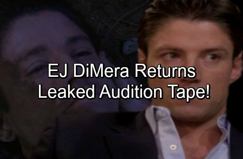 Days of Our Lives Spoilers: Leaked Tim Abell Audition Tape Hints at EJ DiMera's Return From The Dead - Not Stefano's