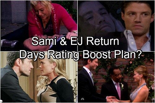 Days of Our Lives Spoilers: Sami and EJ Return to Salem, DOOL Seeks Ratings Boost with Fan Favorites?