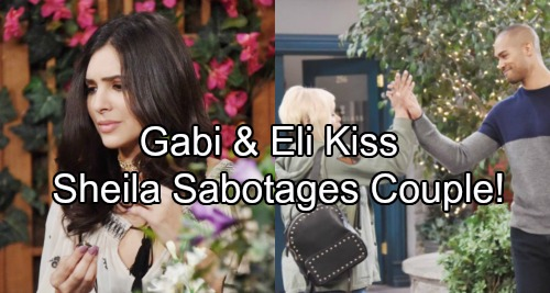Days of Our Lives Spoilers: Gabi and Eli Kiss, Romance Heats Up – Vengeful Sheila Sabotages Couple