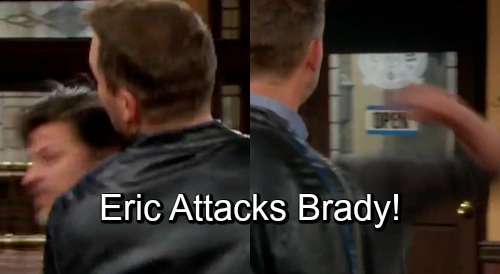 Days of Our Lives Spoilers: Brady Tries To Reconcile With Bitter Brother - Disaster Ensues, Eric Attacks