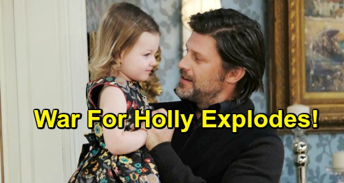 Days of Our Lives Spoilers: Brady Pushes Chloe For Legal Adoption of Holly - Custody War Explodes