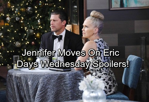 Days of Our Lives Spoilers: Jennifer Makes Her Move On Eric – Abigail's Surprising Discovery – Tripp and Ciara Scheme