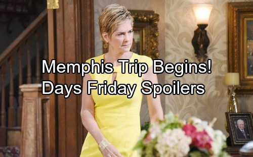 Days of Our Lives Spoilers: Memphis Mission Begins – Eve Returns with a Stunning Secret – Justin Gives Lucas Huge News
