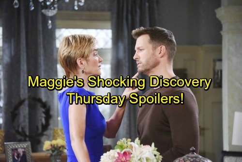 Days of Our Lives Spoilers: Thursday, February 1 - Maggie's Stunning Discovery