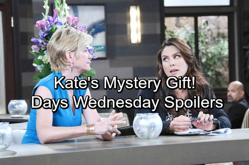 Days of Our Lives Spoilers: Wednesday, March 28 – Chloe's Mystery Gift – Paul Spies On Vivian – Will Surprises Adrienne