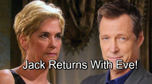 Days of Our Lives Spoilers: Jack's Back-from-the-Dead Story Tied to Eve's Comeback – Huge Shockers Ahead for Jennifer