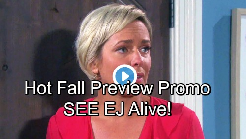 Days of Our Lives Spoilers: DOOL's Hot Fall Promo – Sami Discovers EJ – Eric Reunites with Nicole – Startling Explosion Rocks Salem