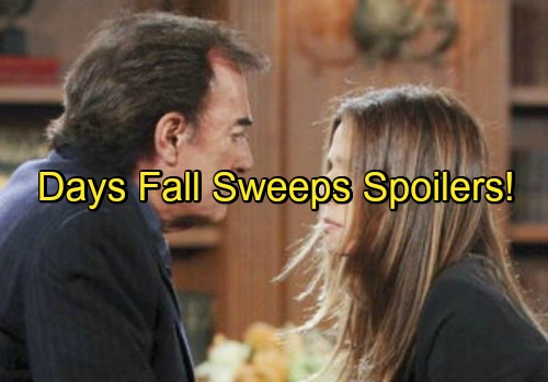 'Days of Our Lives' Spoilers: Fall Sweeps Excitement – Chloe Baby Daddy Revealed - Hope On Trial, Huge Cast Returns and More