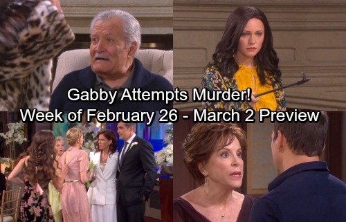 Days of Our Lives Spoilers: Abigail Attempts Another Murder – Claire Destroys Hope's Wedding