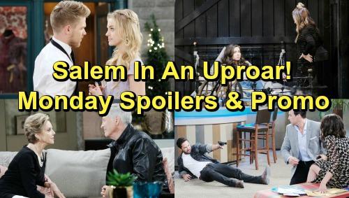 Days of Our Lives Spoilers: Monday, February 4 – Jordan Lies to Ciara – Stefan Shot Saving Chloe – John Reels Over Diana
