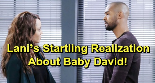 Days of Our Lives Spoilers: Lani's Startling Baby David Realization - Comes Too Late, Leaves Her Broken and Alone