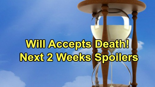 Days of Our Lives Spoilers Next 2 Weeks: Will Accepts Imminent Death - Ben Remembers Claire's Ringtone at the Cabin – Eli Dumps Lani