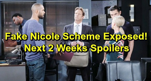 Days of Our Lives Spoilers Next 2 Weeks: Fake Nicole and Xander Scheme Exposed – Jack's Memory Returns – Tripp's Startling Escape