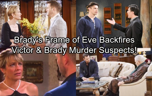 Days of Our Lives Spoilers: Brady's Revenge Backfires – Victor and Brady Investigated for Deimos' Murder