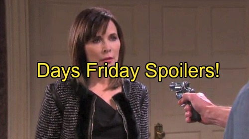 'Days of Our Lives' Spoilers: Chad Saves Kate From Clyde – Nicole Fears Xander's Cruel Attack – Villains Set Up Home Base