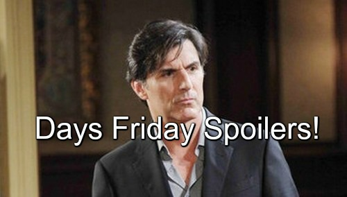 Days of Our Lives (DOOL) Spoilers: Deimos Peace Plan, Danger Looms – Summer Stunned by Maggie's Revelations
