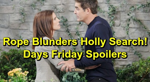 Days of Our Lives Spoilers: Friday, May 3 – Nicole's Return Stuns Brady – Rafe and Hope Blunder Holly Mission – Gabi's New Stefan Tactic