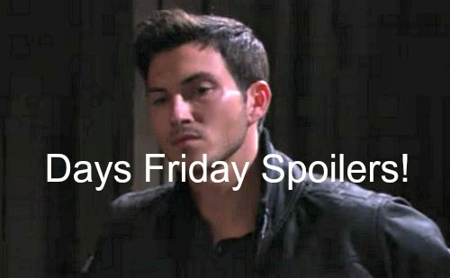 Days of Our Lives (DOOL) Spoilers: Ben Sighting Causes Wedding Panic - Eduardo Takes Bullet for Rafe, John's Father Shocker