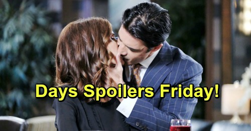 Days of Our Lives Spoilers: Friday, April 5 – Lani Obsessed with Jordan's Baby – Eve's Wedding Shocker – Lovestruck Ted's Crazy Move
