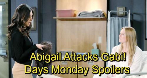 Days of Our Lives Spoilers: Monday, November 19 – Abigail's Attack Stuns Gabi – Sheila Infuriates Abe – Ciara Takes Action