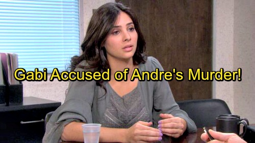 Days of Our Lives Spoilers: Gabi Panics Over Andre Murder Accusations, Fears More Jail Time