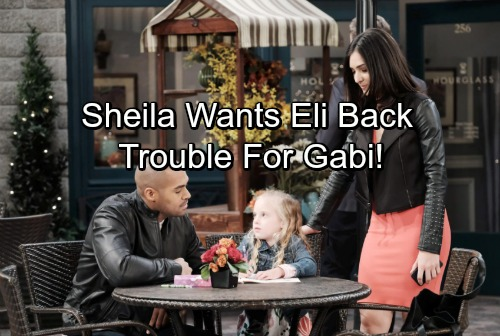 Days of Our Lives Spoilers: Sheila Wants Eli Back, Causes Turmoil With Gabi