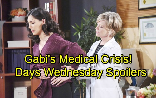 Days of Our Lives Spoilers: Wednesday, July 11 – Gabi Hospitalized After Alarming Medical Crisis – Ben and Ciara's Powerful Moment