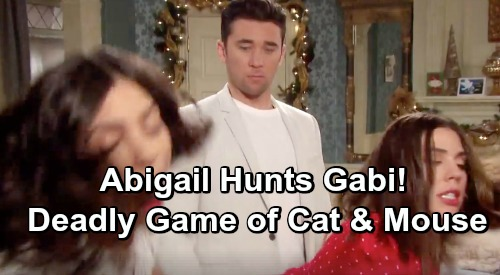 Days of Our Lives Spoilers: A Vicious Game Of Cat and Mouse - Abigail Fights To Prove Gabi's Deception