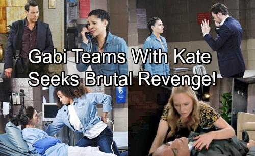 Days of Our Lives Spoilers: Gabi's Vengeful Desires Explode – Helps Kate Destroy Stefan, Plots Against Unpunished Abigail