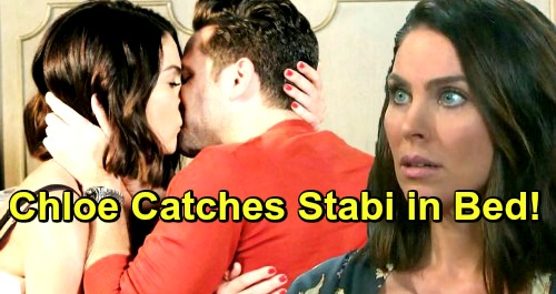 Days of Our Lives Spoilers: Chloe Catches Stabi In Bed - Stefan's Chances With Chloe Crumble