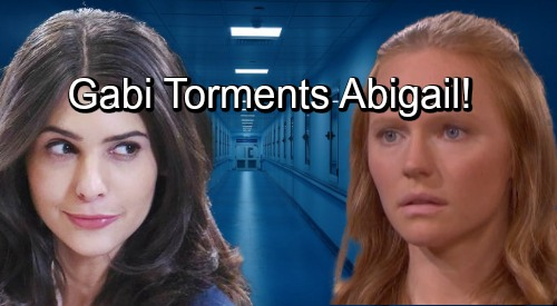 Days of Our Lives Spoilers: Gabi Visits Prisoner Abigail In Mental Institution – Laughs At Victim's Misery