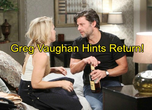Days of Our Lives (DOOL) Spoilers: Greg Vaughan Opens Up About Eric's Heartbreaking Last Scenes, Hints at Potential Return