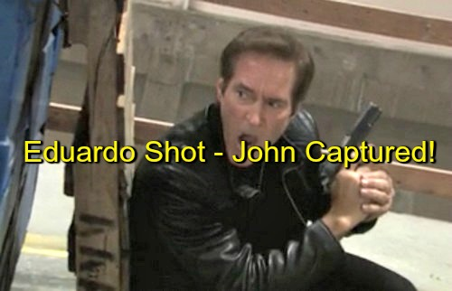 Days of Our Lives (DOOL) Spoilers: Eduardo Shot, John Captured - Gunfight Breaks Out During Kidnap Rescue Attempt