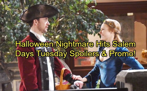 Days of Our Lives Spoilers: Salem Gets Spooky – Ben, Paige and Serena Return – Nightmares for Abigail, Steve, Tripp and More