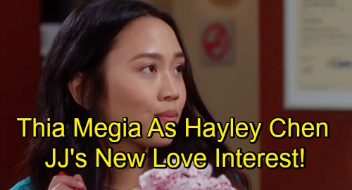 Days of Our Lives Spoilers: Thia Megia Cast on Days As Hayley Chen - New Love Interest For JJ