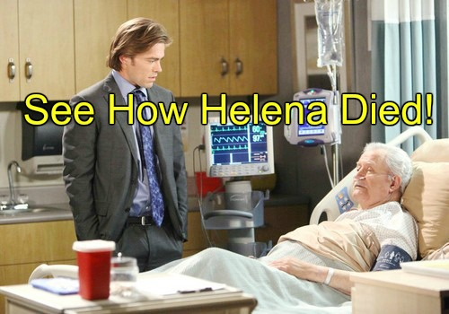 Days of Our Lives (DOOL) Spoilers: Mystery of Helena's Death Revealed - Arianne Zucker Plays Victor's Lost Love