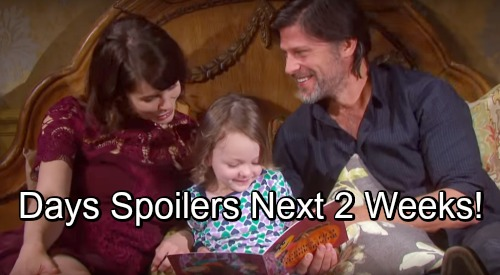 Days of Our Lives Spoilers Next 2 Weeks: Gabi Gloats – Brady's Huge News – Paul's Goodbye - New DOOL 2018-2019 Preview Video