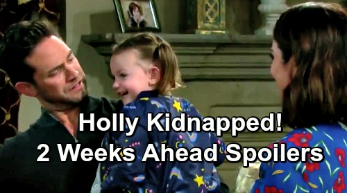 Days of Our Lives Spoilers: 2 Weeks Ahead - Holly Is Kidnapped - Nicole's The Prime Suspect