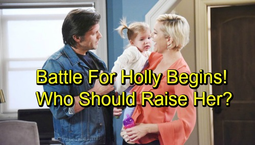 Days of Our Lives Spoilers: Battle Over Holly Begins - Who Will Raise Nicole's Daughter?