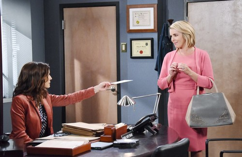 Days of Our Lives Spoilers: Monday, February 12 - Kate's Stunning Discovery – Carrie Surprises Hope – Abigail Leans on Stefan