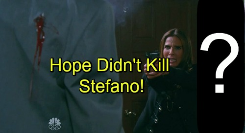 'Days of Our Lives' Spoilers: Hope Didn't Kill Stefano, Twisty Rewrite Points to Another Murderer?